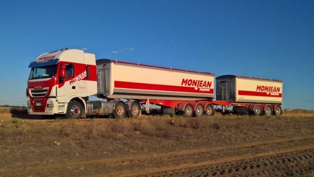 Monjean Transport, Australia